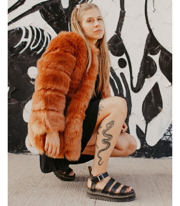 Duff**Faux Fur Jacket