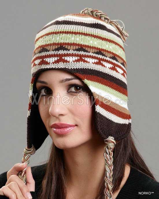 Womens Chullo Trapper Winter Hat